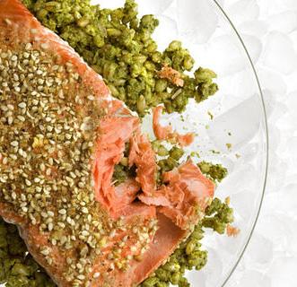 Dukkah Recipe Roundup   Dukkah Crusted Salmon   SavoryPantryBlog.com