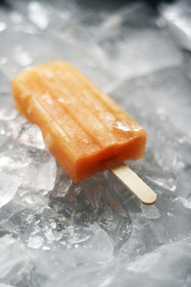 Recipe: Grapefruit Shrub and Rosé Popsicles | SavoryPantryBlog.com