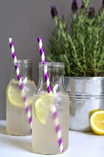 Roundup: Cooled Down Summer Foods | Lavender Lemonade | SavoryPantryBlog.com