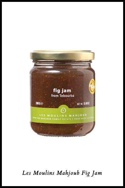 In Season: Fresh Fig Recipes & Fig Products | Les Moulins Mahjoub Fig Jam | SavoryPantryBlog.com #figs