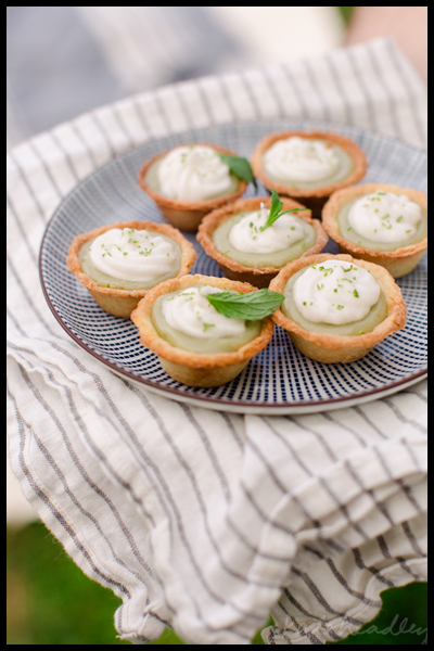 Roundup: The Best of Summer Picnics | Lime Curd in Pastry Cups | SavoryPantryBlog.com #picnic