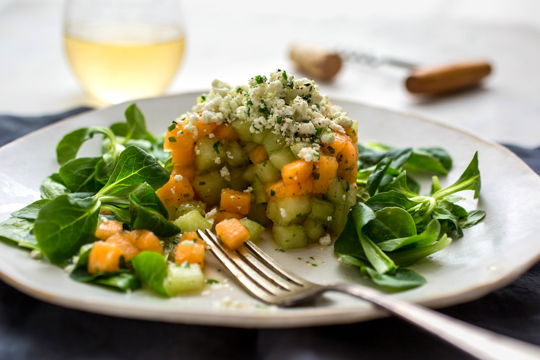 Food in the News: Week of July 23, 2014 | Savory Melon Tartare | SavoryPantryBlog.com