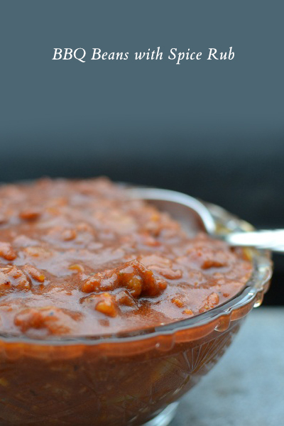 4 Unexpected Ways to Use Spice Rub | Spice Rubbed BBQ Beans | SavoryPantryBlog.com