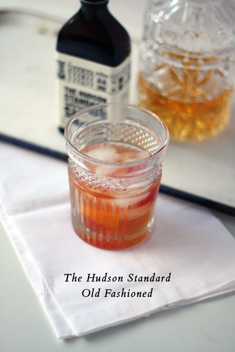 The Hudson Standard Old Fashioned | SavoryPantryBlog.com
