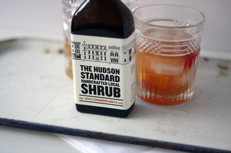 The Hudson Standard Old Fashioned | SavoryPantryBlog.com