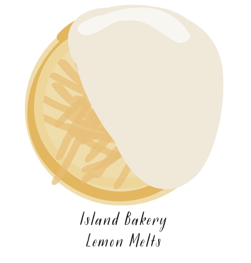 Island Bakery Lemon Melts  //  SavoryPantryBlog.com