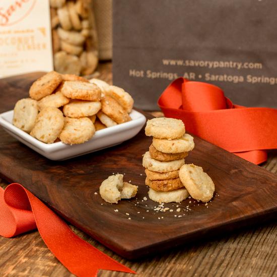 Savor Coconut Ginger Cookies