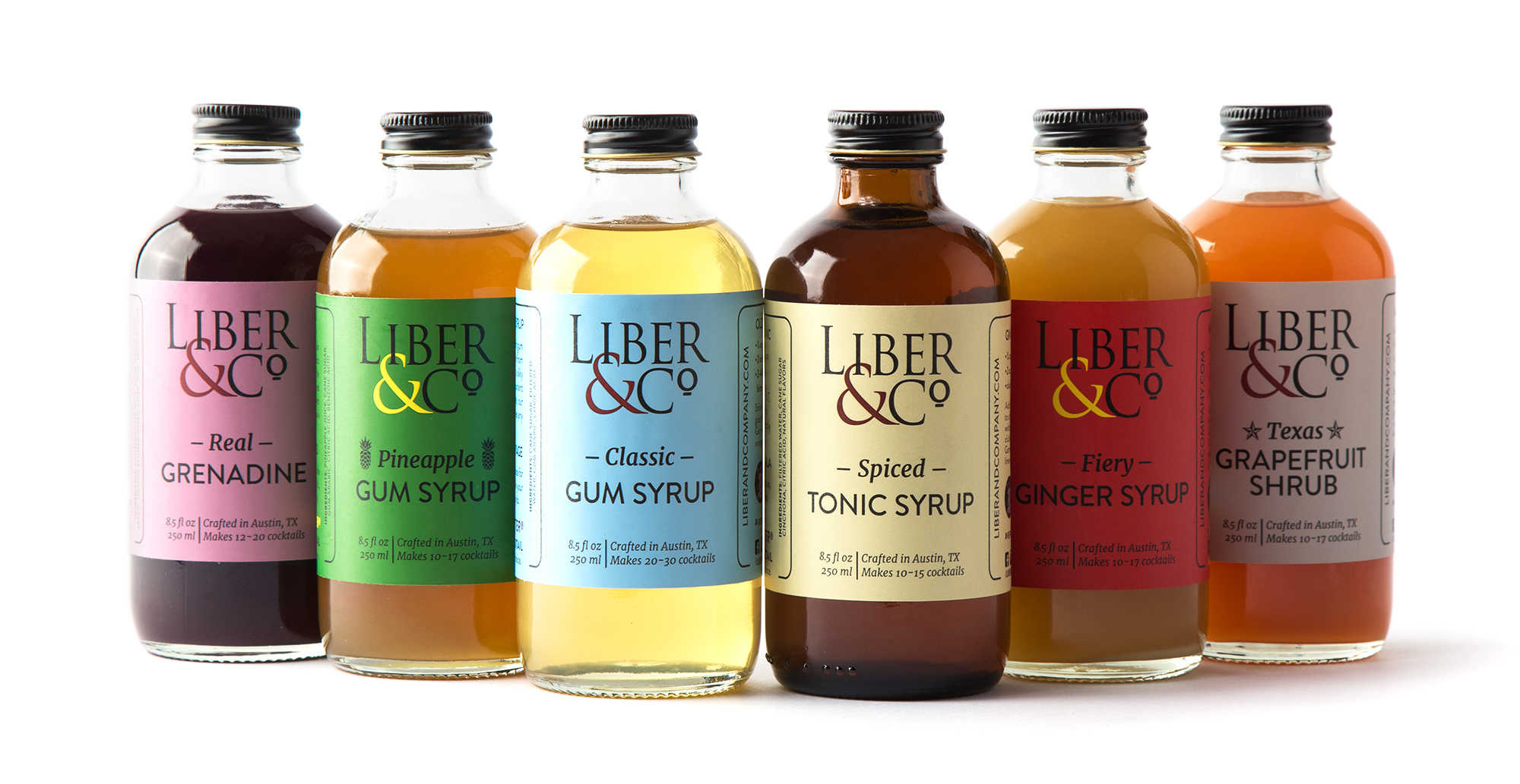 Liber & Co. Syrups & Shrubs