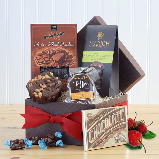 A Bite of Chocolate Gift Box, $53