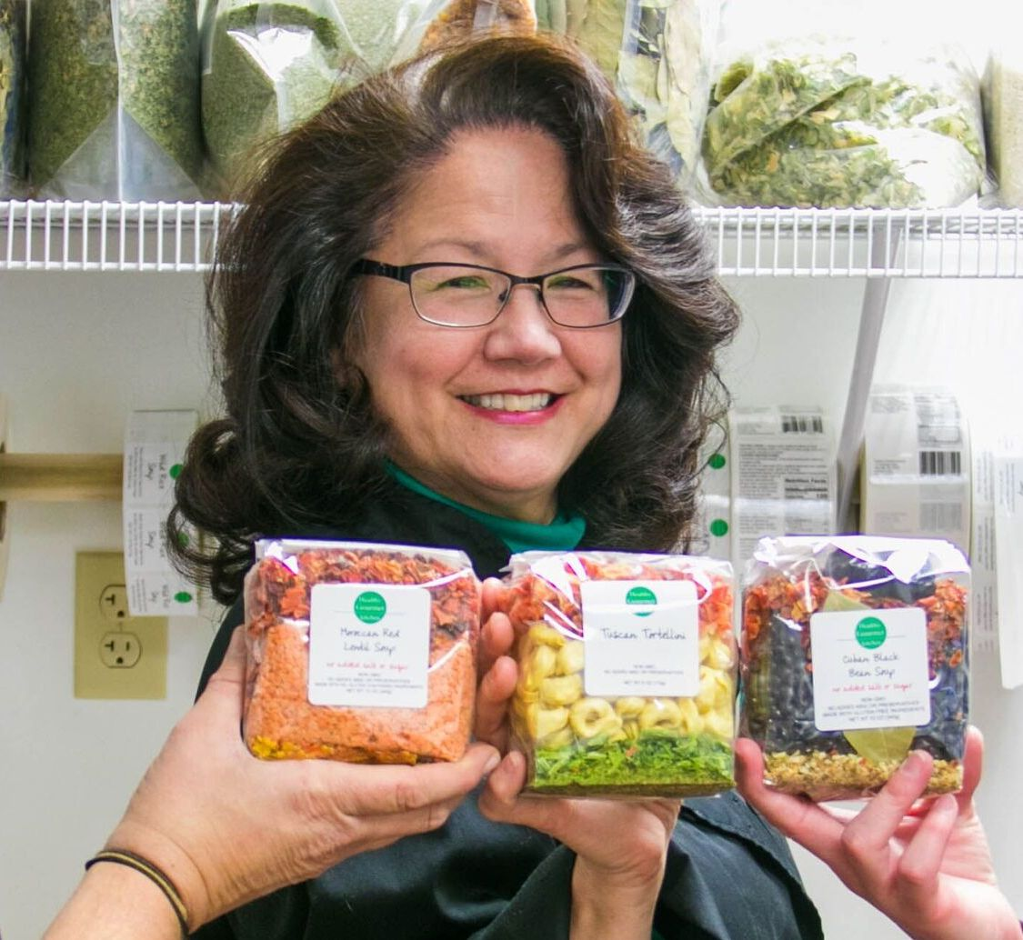 Healthy Gourmet Kitchen Founder, Mary Song. Image by Dona Frank-Federico.