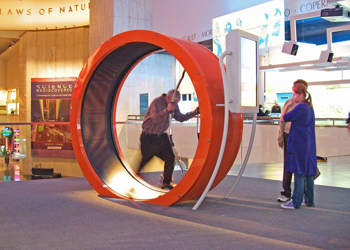 Museum of Science & Industry Hamster Wheel