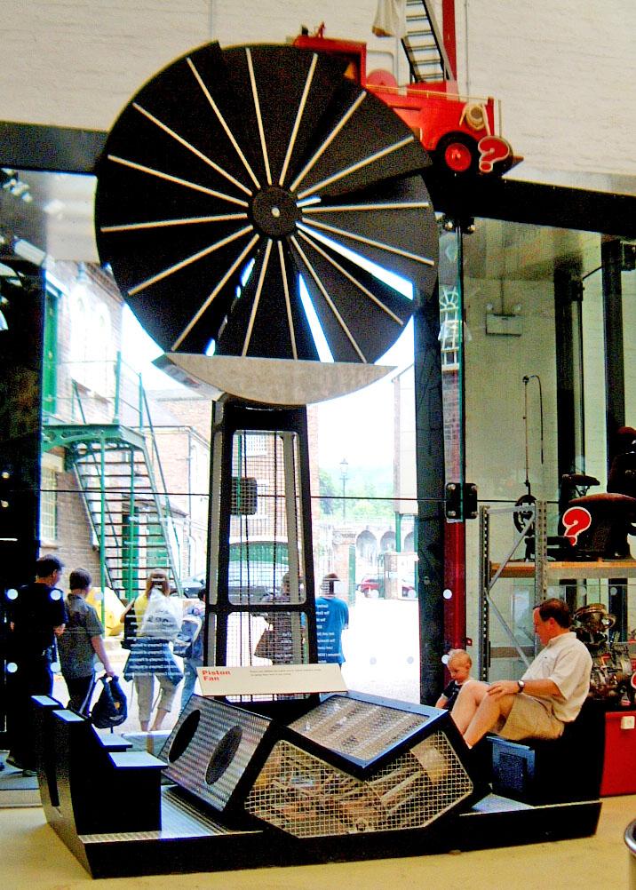 Enginuity Museum Giant Engine