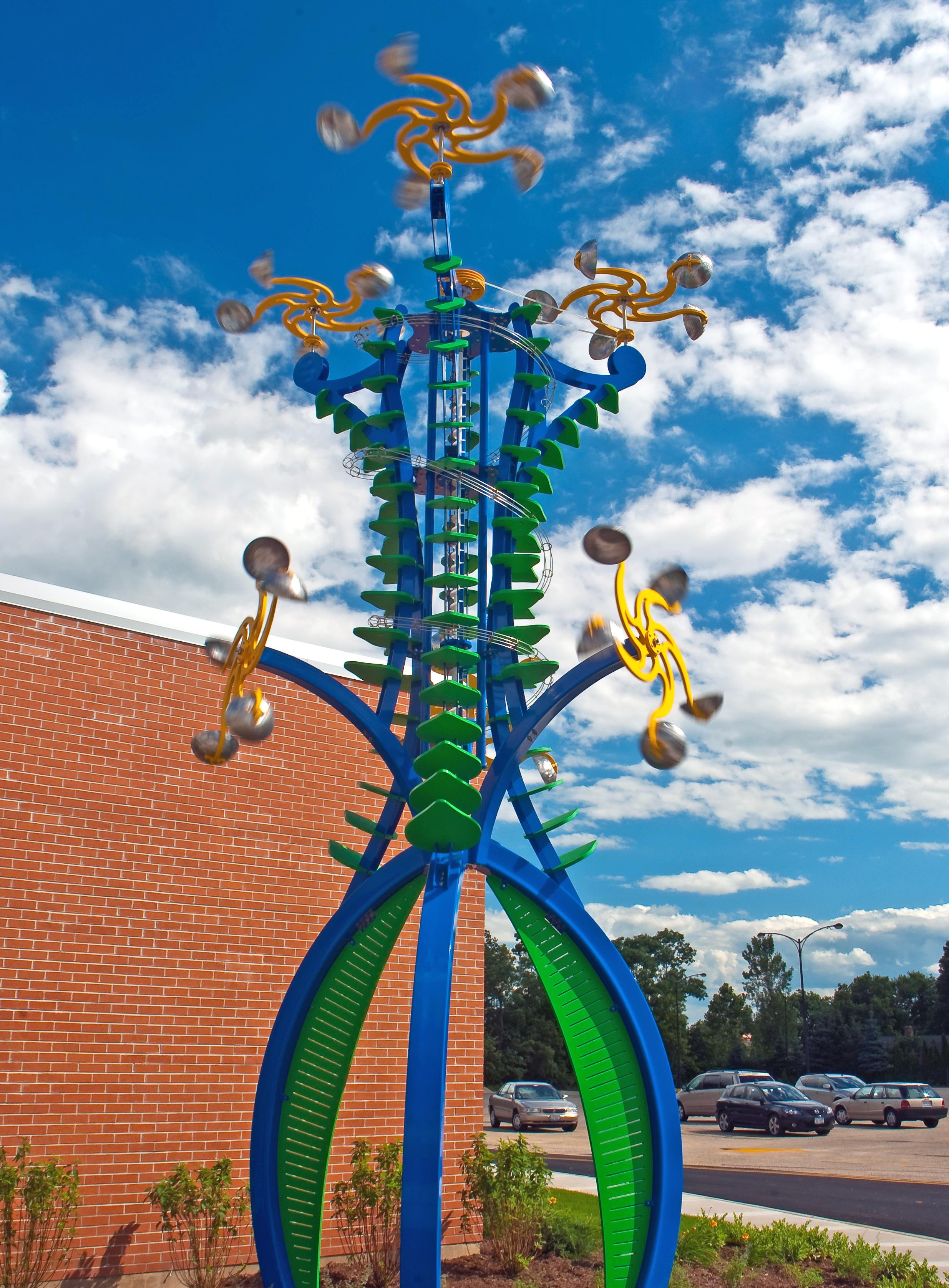 Kinetic Outdoor Sculpture