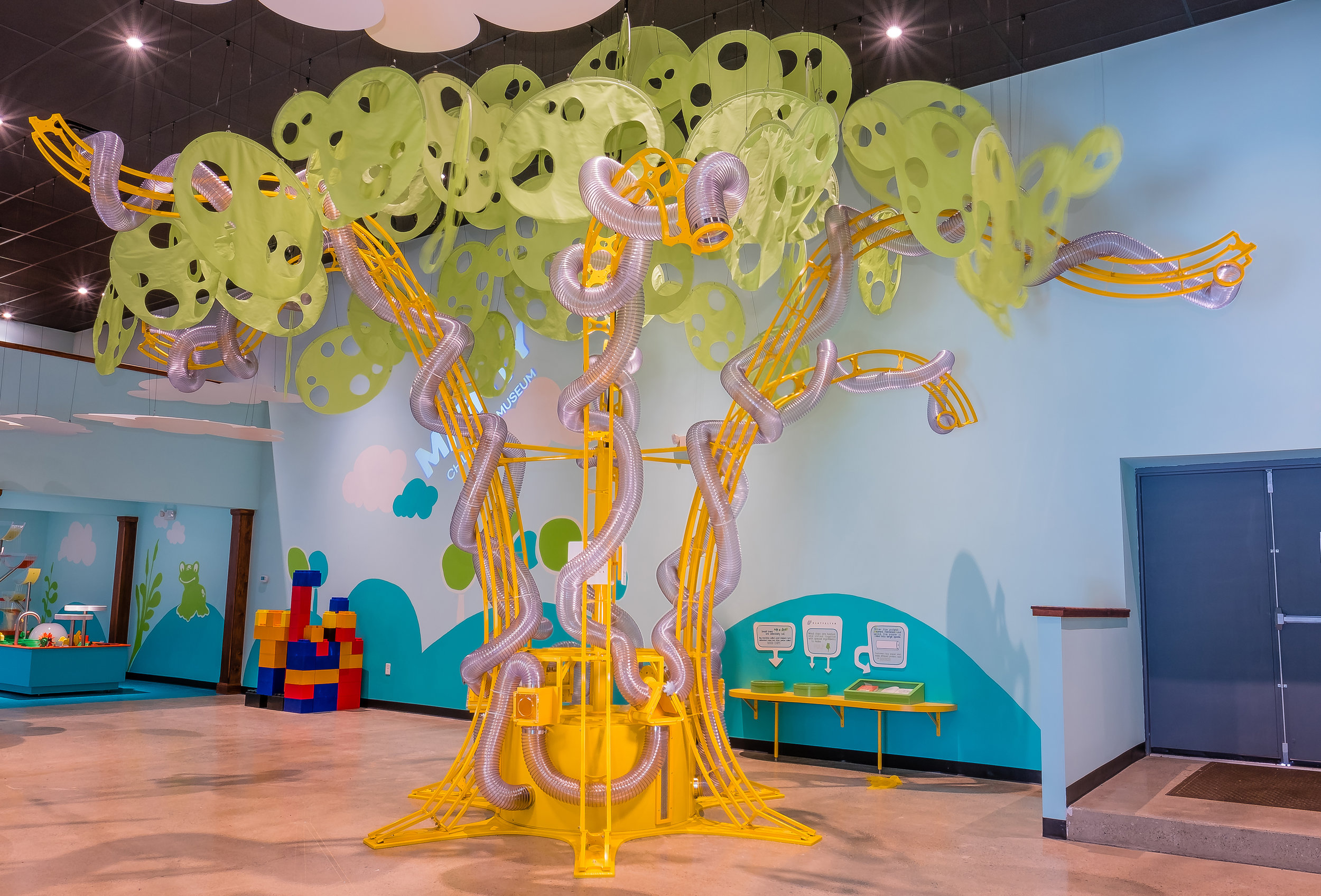 Mighty Children's Museum Scarf Tree
