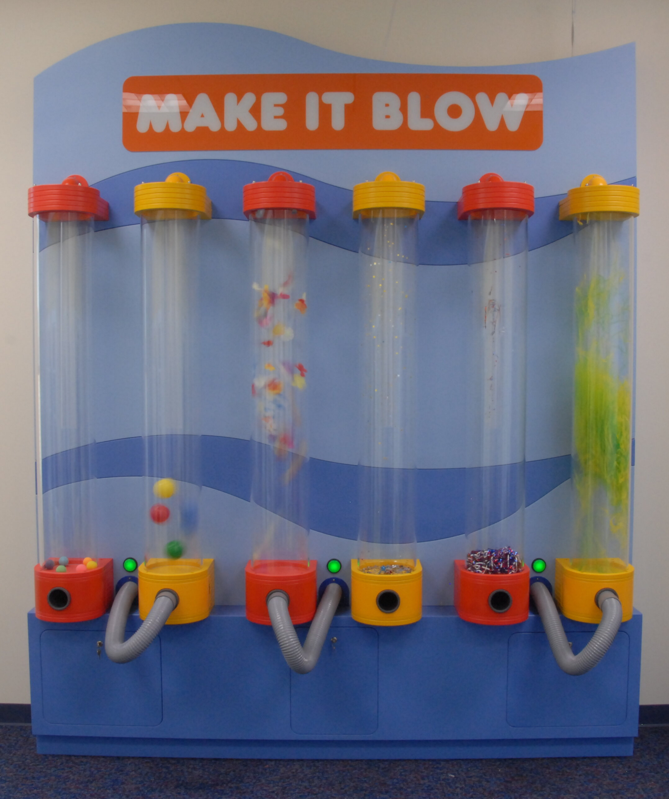 Discovery Center Museum Make It Blow