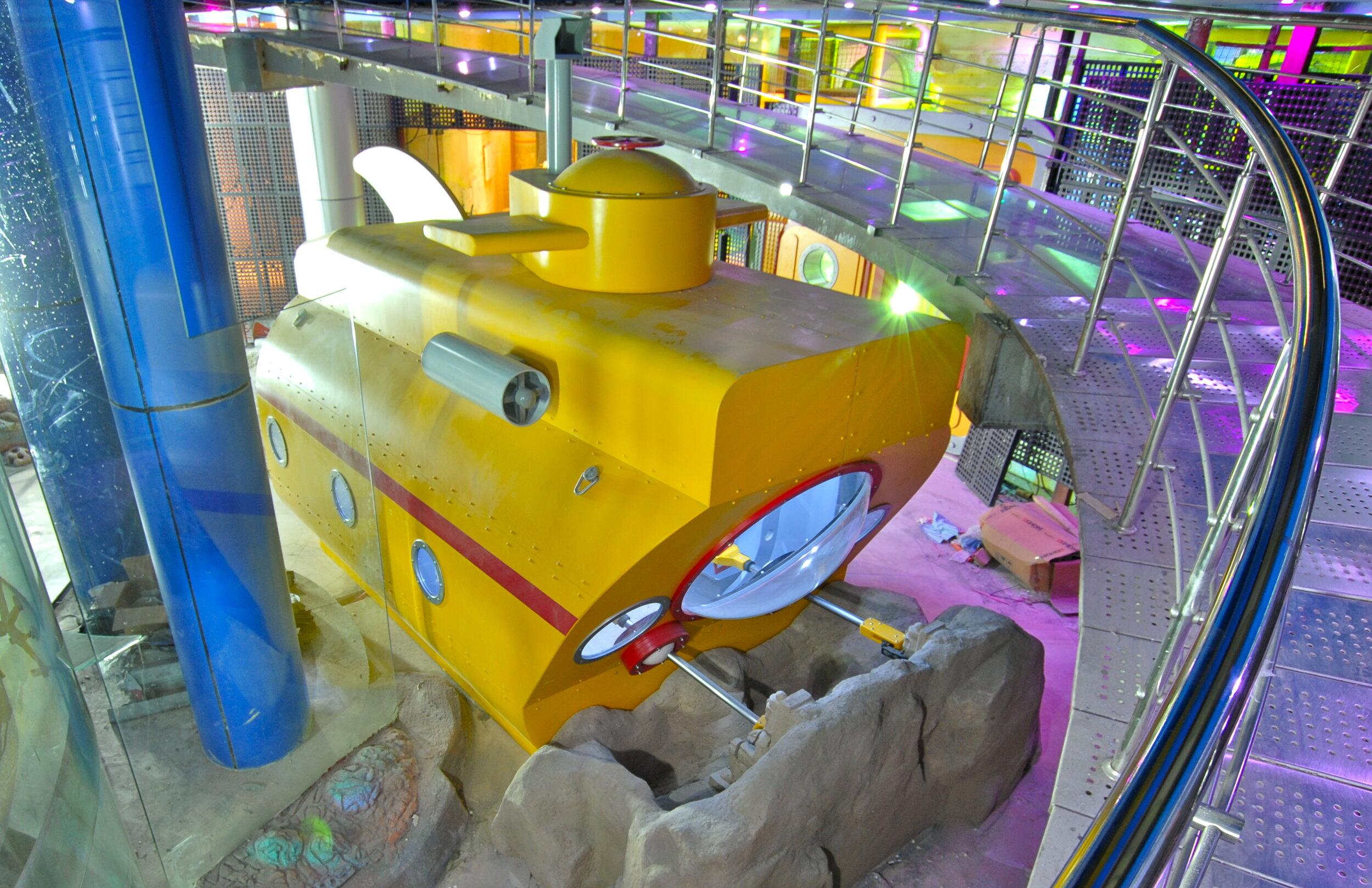 Cairo Children's Museum Research Submarine