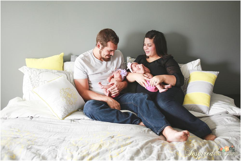 Newborn Twins // Inspired Photography