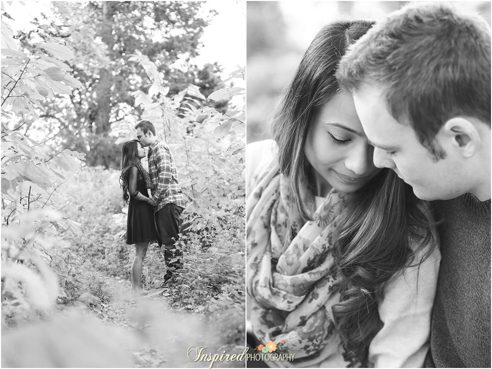 Creve Coeur Park Engagement Photography // www.inspiredphotographystl..com