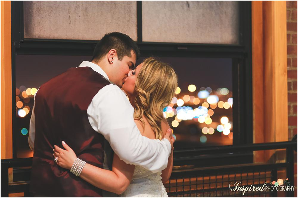 Windows On Washington Wedding, Downtown St. Louis, Reception Details, City Lights // www.inspiredphotographystl.com