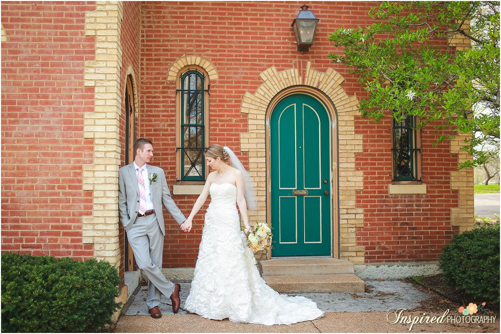 Spring Lafayette Park + Palladium St. Louis Wedding Photography // www.inspiredphotographystl.com