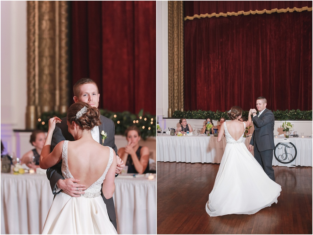 Downtown Spring St. Louis Wedding // www.inspiredphotographystl.com