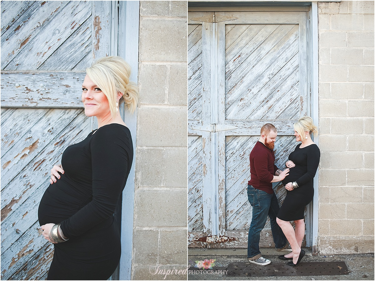 First Year Photos, Maternity Old Town St. Charles // www.inspiredphotographystl.com