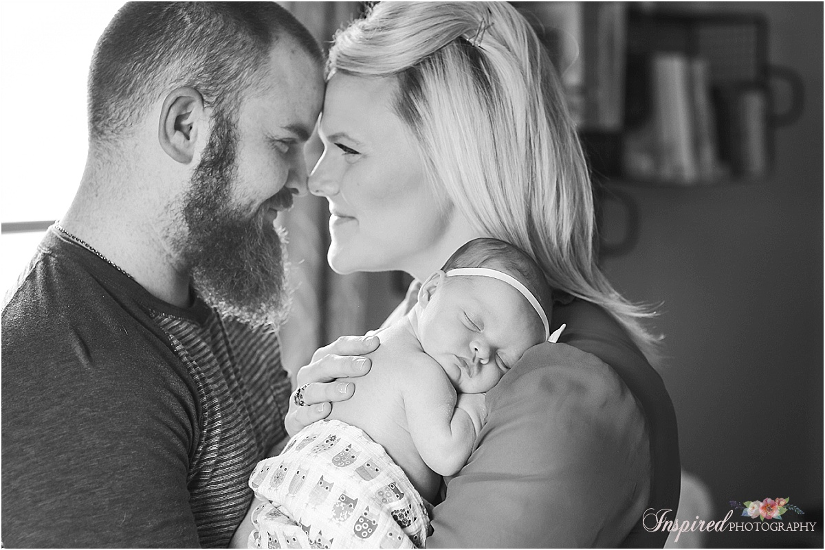 First Year Photos, Newborn Photographyr Old Town St. Charles // www.inspiredphotographystl.com