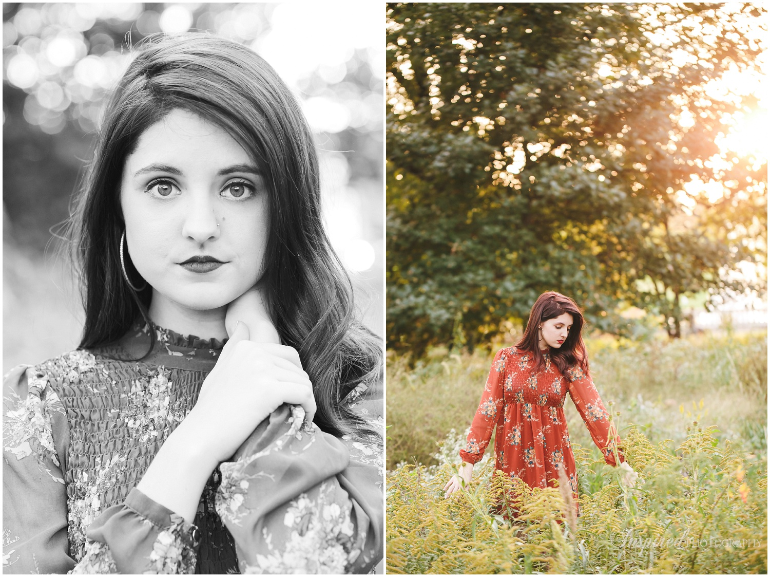 St. Louis Senior Portrait Photography, Vintage Vinyl, Forest Park, Class of 2017, Graduate, Senior Photos // www.inspiredphotographystl.com