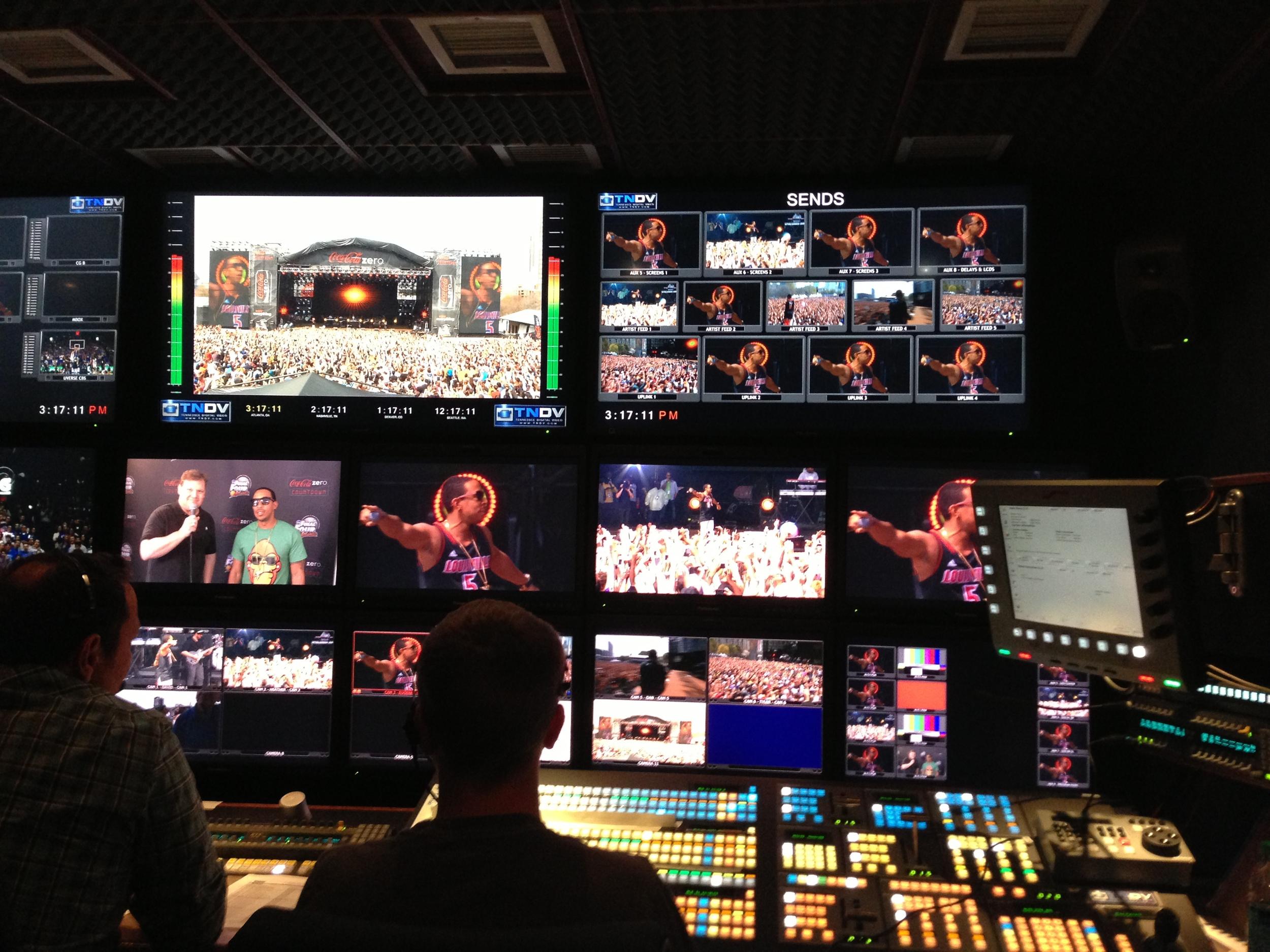 Coke Zero Countdown - Production Truck - Ludacris 1.JPG