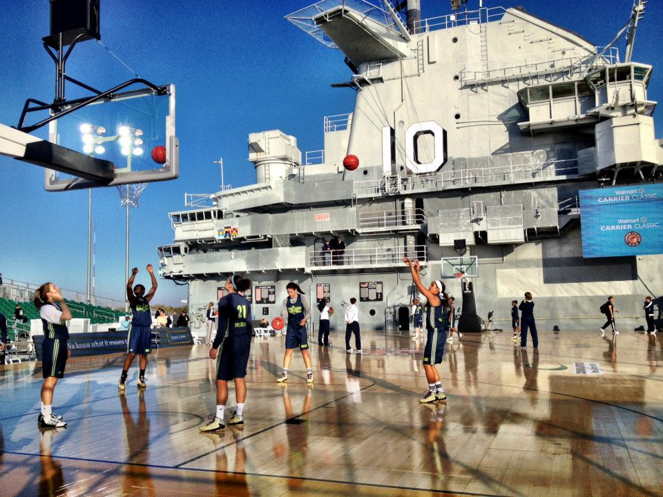Carrier Classic - Notre Dame Shootaround 1.jpg