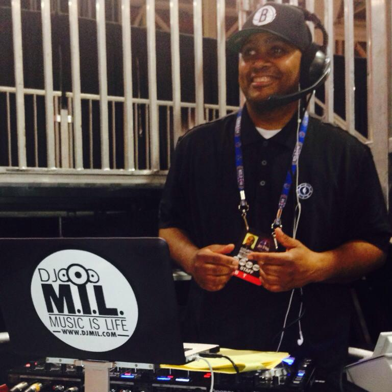 At 2014 NBA All-Star Weekend as the Jam Session Music Coordinator.