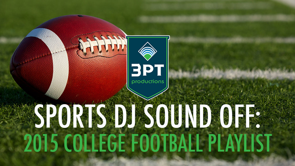 2015 College Football Playlist