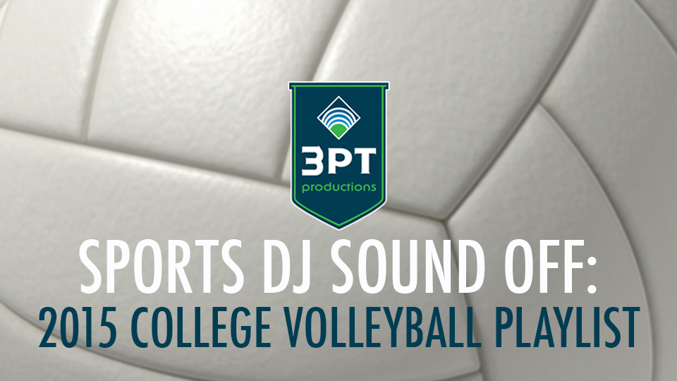 2015 College Volleyball Playlist