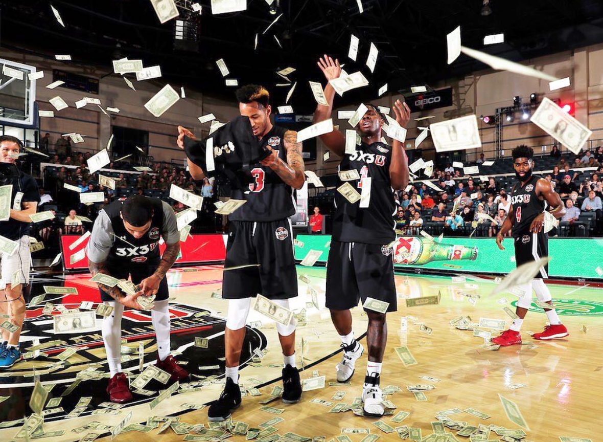 Intersport 's 3X3U National Championship introduced some new ways to celebrate winning.