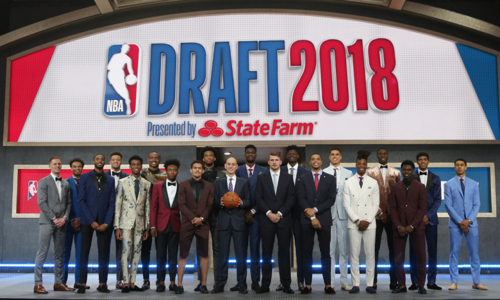 Directing an NBA Draft was a bucket list item that Pat was able to check off in 2018. (Getty Images/NBA)
