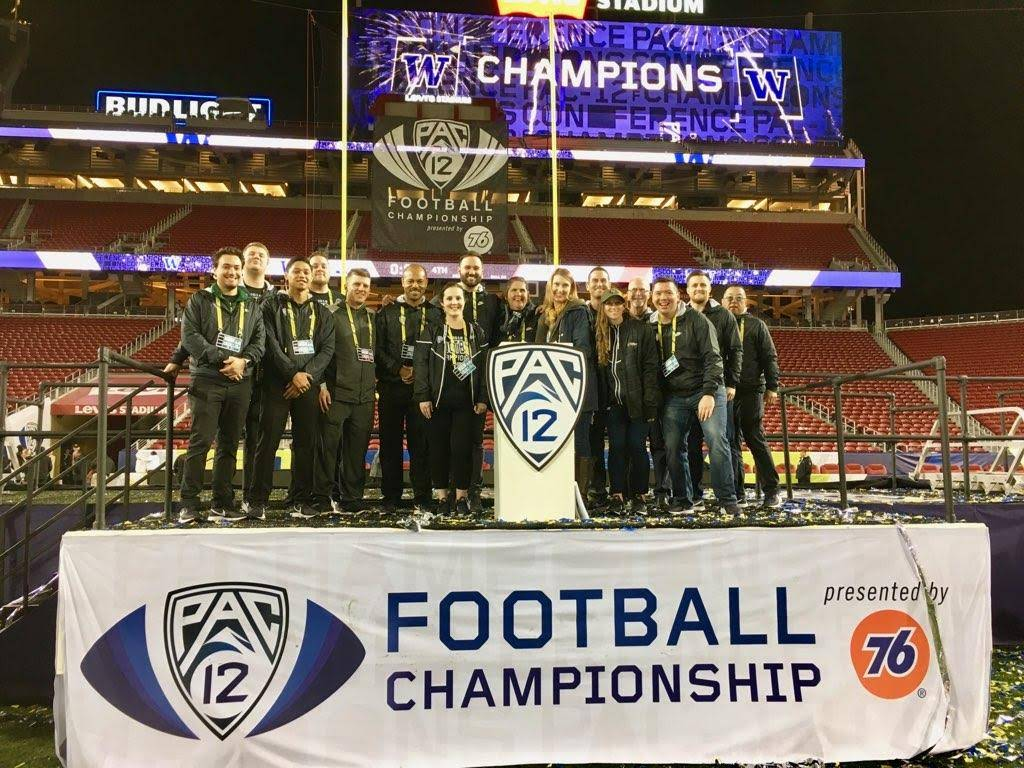 3 Point and the Pac-12 Conference have grown from vendors to partners to family over the years.