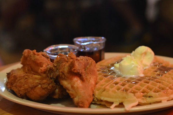 This picture is here so I can get Matt to read the blog. He loves Roscoe's, I love Roscoe's, we all love Roscoe's.