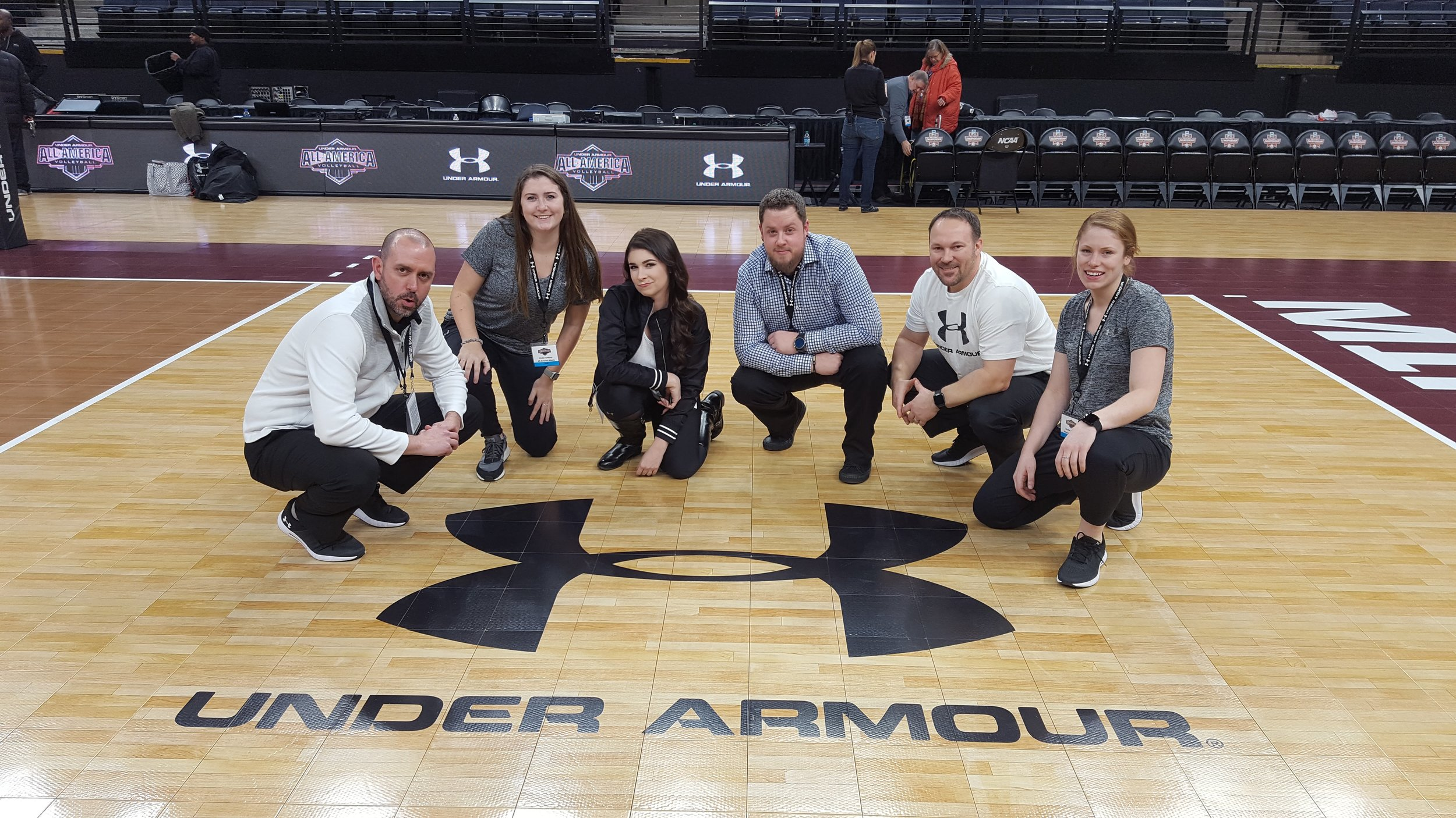 The Under Armour All America Volleyball / 3PT / Timberwolves production #squad.