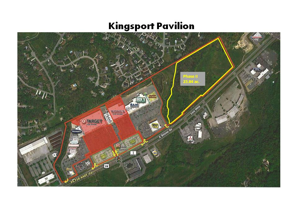 Phase II - Kingsport Pavilion