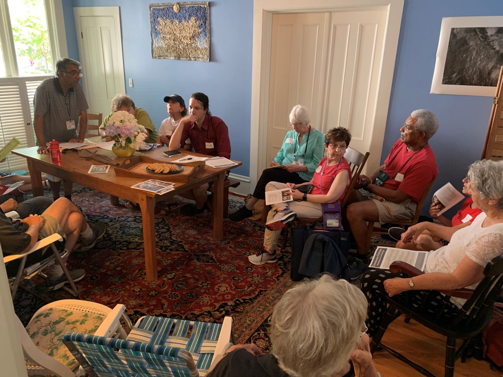 - AAHH-hosted Chautauqua Dialogues have been very popular. Week 5 we were asked to host dual sessions and still the groups were overpopulated - 51 people in attendance total.