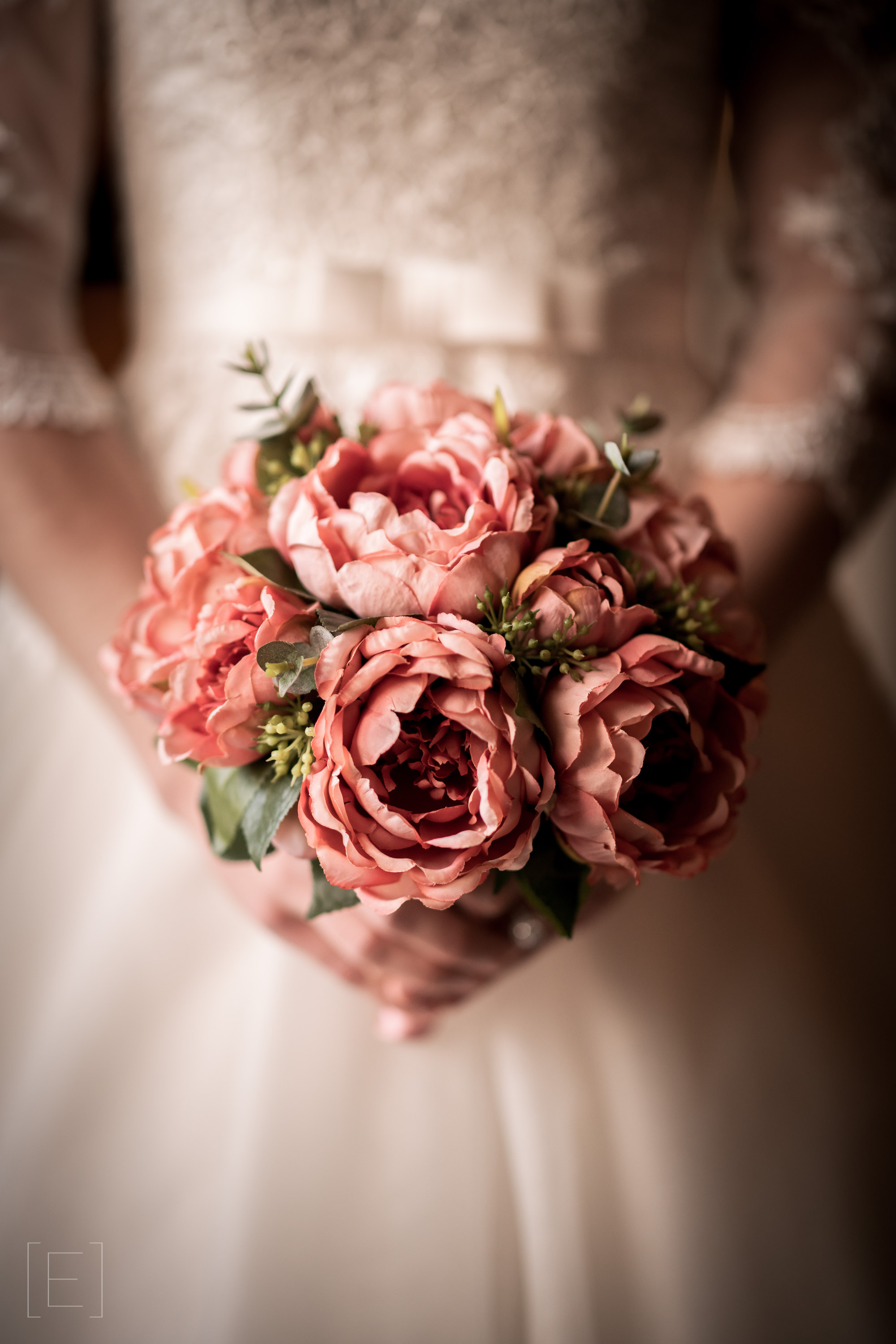 Beautiful Pink Bridal Bouquet