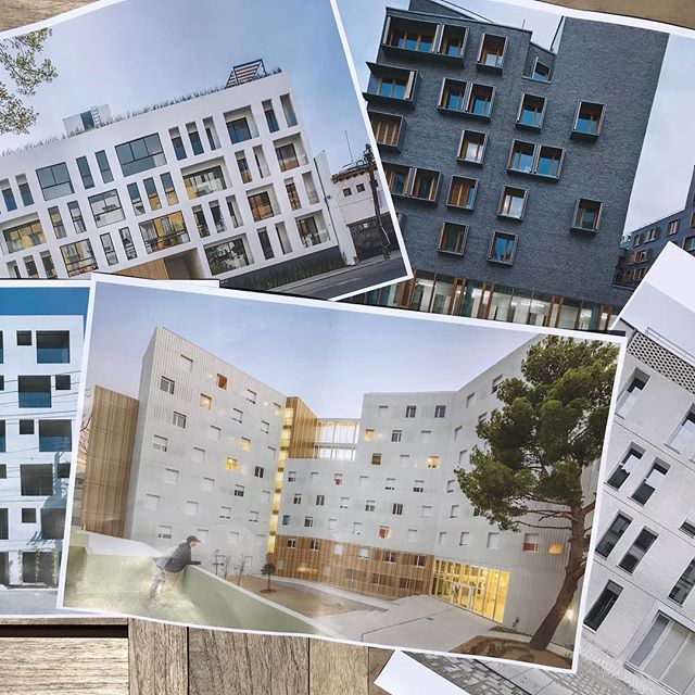 Precedents for one of our new buildings in Baltimore.