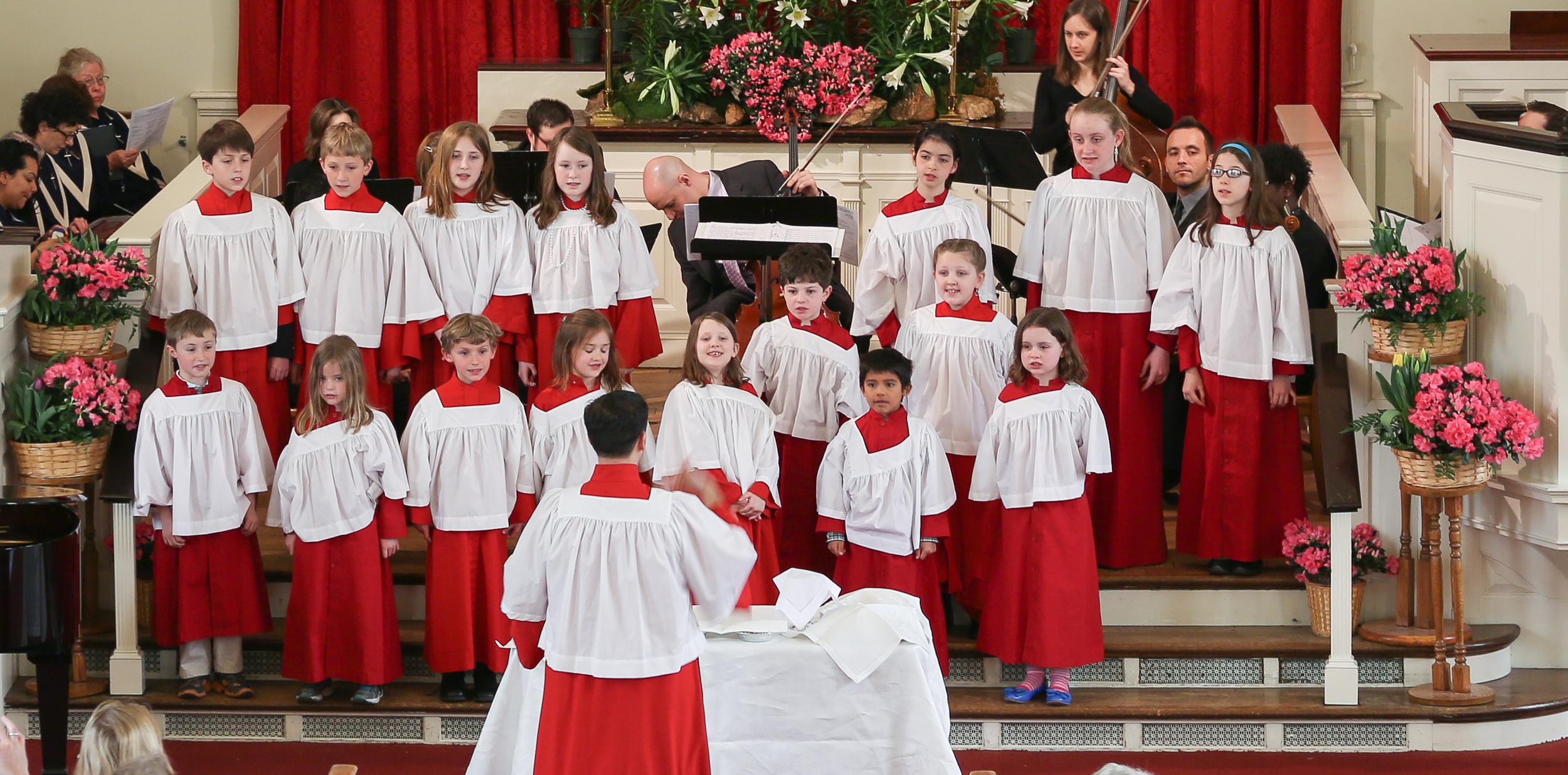 Children's Choir at Easter