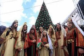 Palestinian girls at christmas.jpg