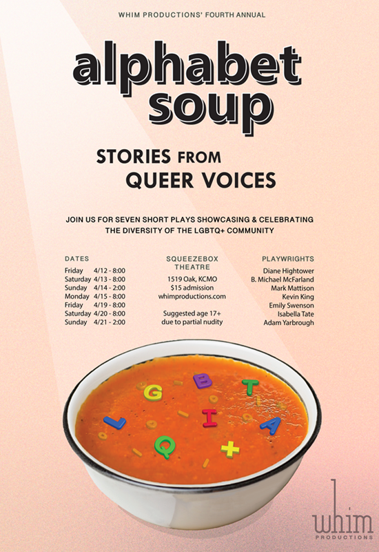 Alphabet Soup: Stories from Queer Voices 2019