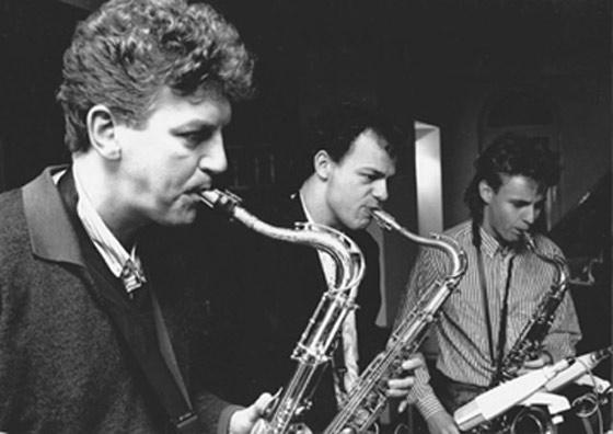 Dick de Graaff, Toon Roos, Boris van der Lek. Foto A. Fledderus