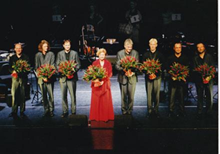 Premiere van De Negen Levens in theater 't Spant, Bussum