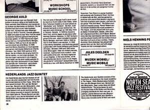 NJQ op het North Sea Jazz Festival '84