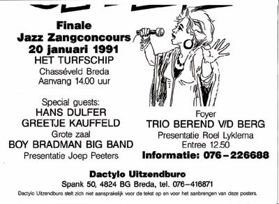 Zangconcours Breda