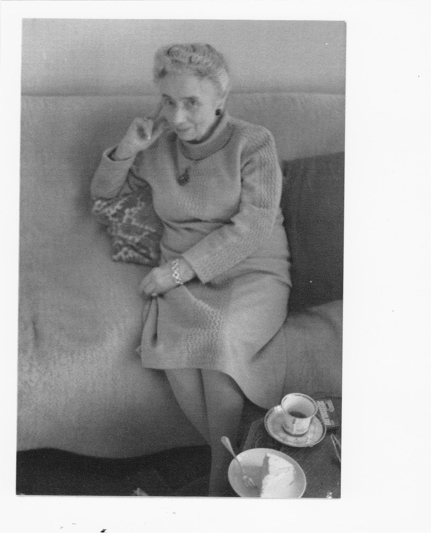 Mijn eerste pianolerares Madame Helene Rosset